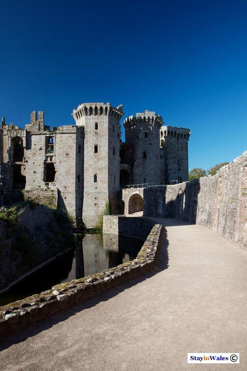 The Moat Walk at Raglan Castle