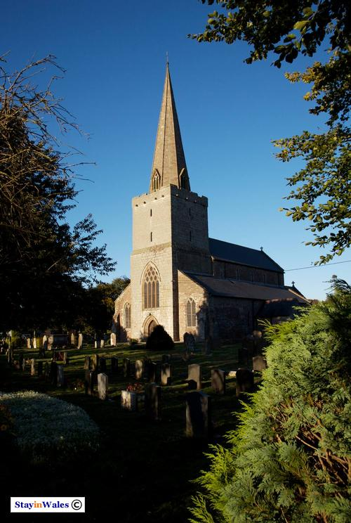 St Nicholas's Church at Trellech, Monmouthshire