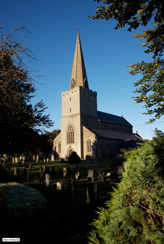 St Nicholas's Church at Trellech, Monmouthshire