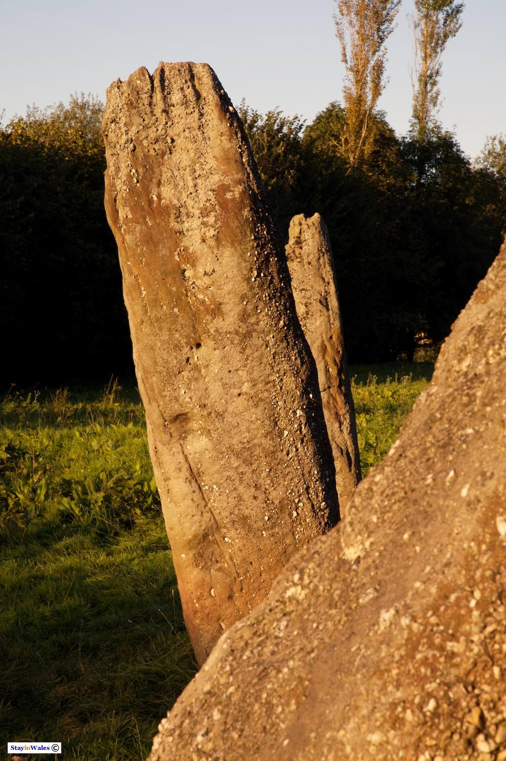 Harold's Stones at Trellech, Monmouthshire
