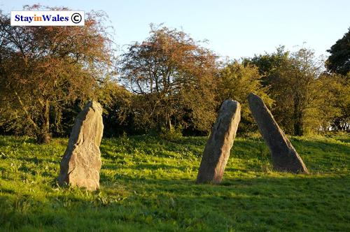 Harold's Stones at Trellech in Monmouthshire