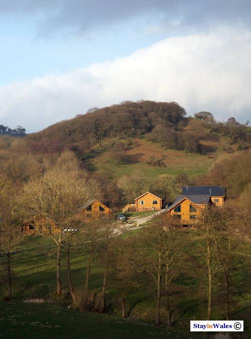 Black Hall lodges, South Shropshire