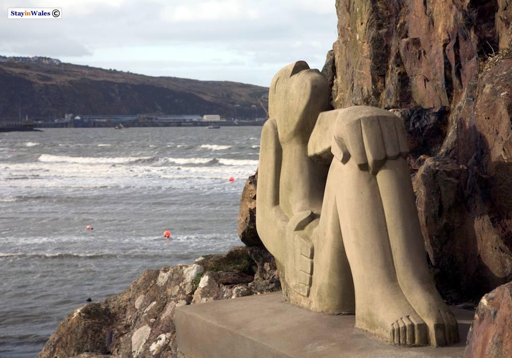 Sun Worshipper sculpture, Fishguard