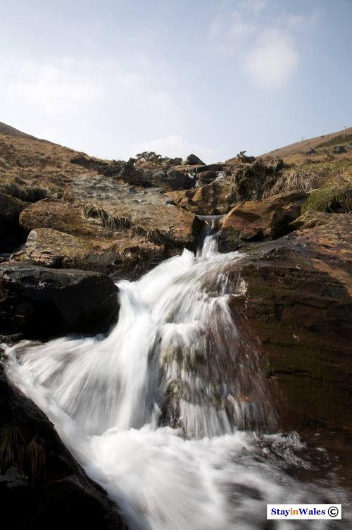 Stream in the Glanllyn Valley near Rhayader