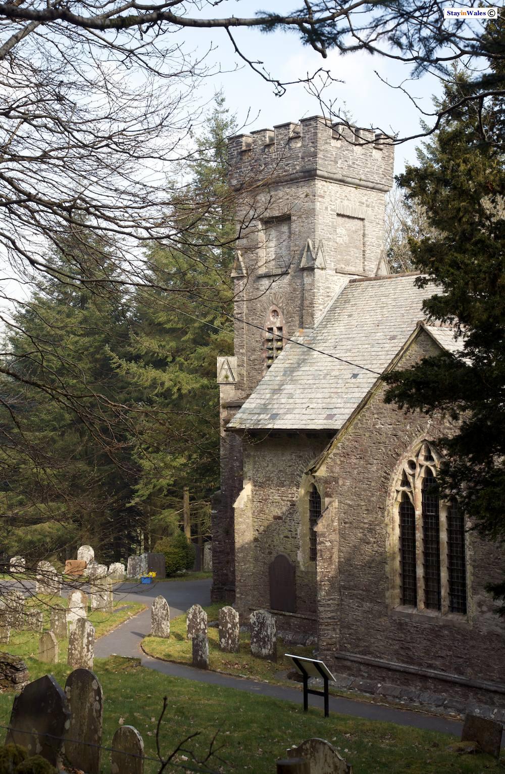 Church on the hafod Estate, Ceredigion