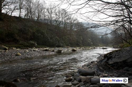 River Ystwyth, Hafod Estate