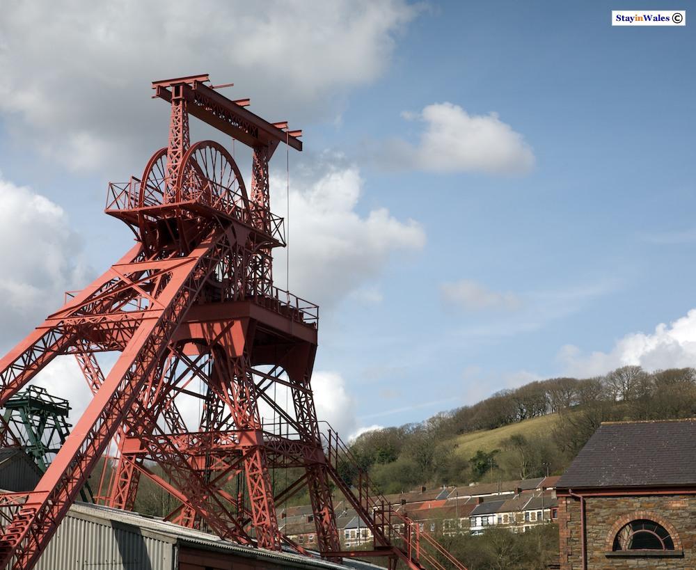 Winding tower, Rhondda Heritage Park