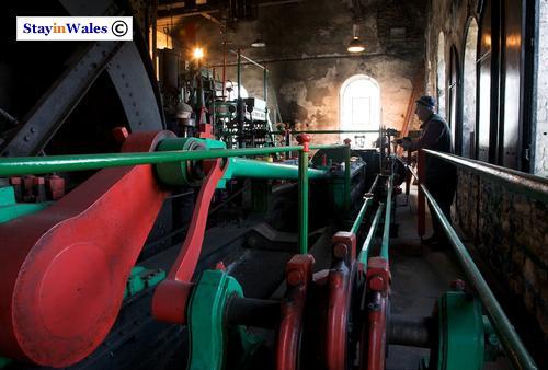 Steam pit winding engine, Rhondda
