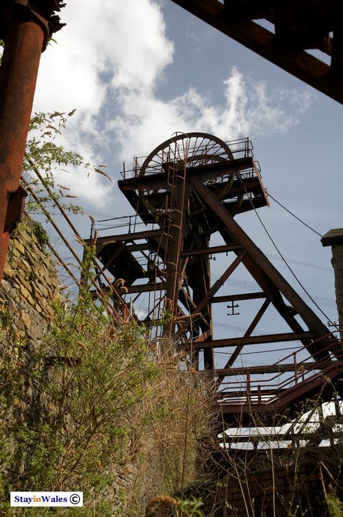 Rhondda pit head winding tower