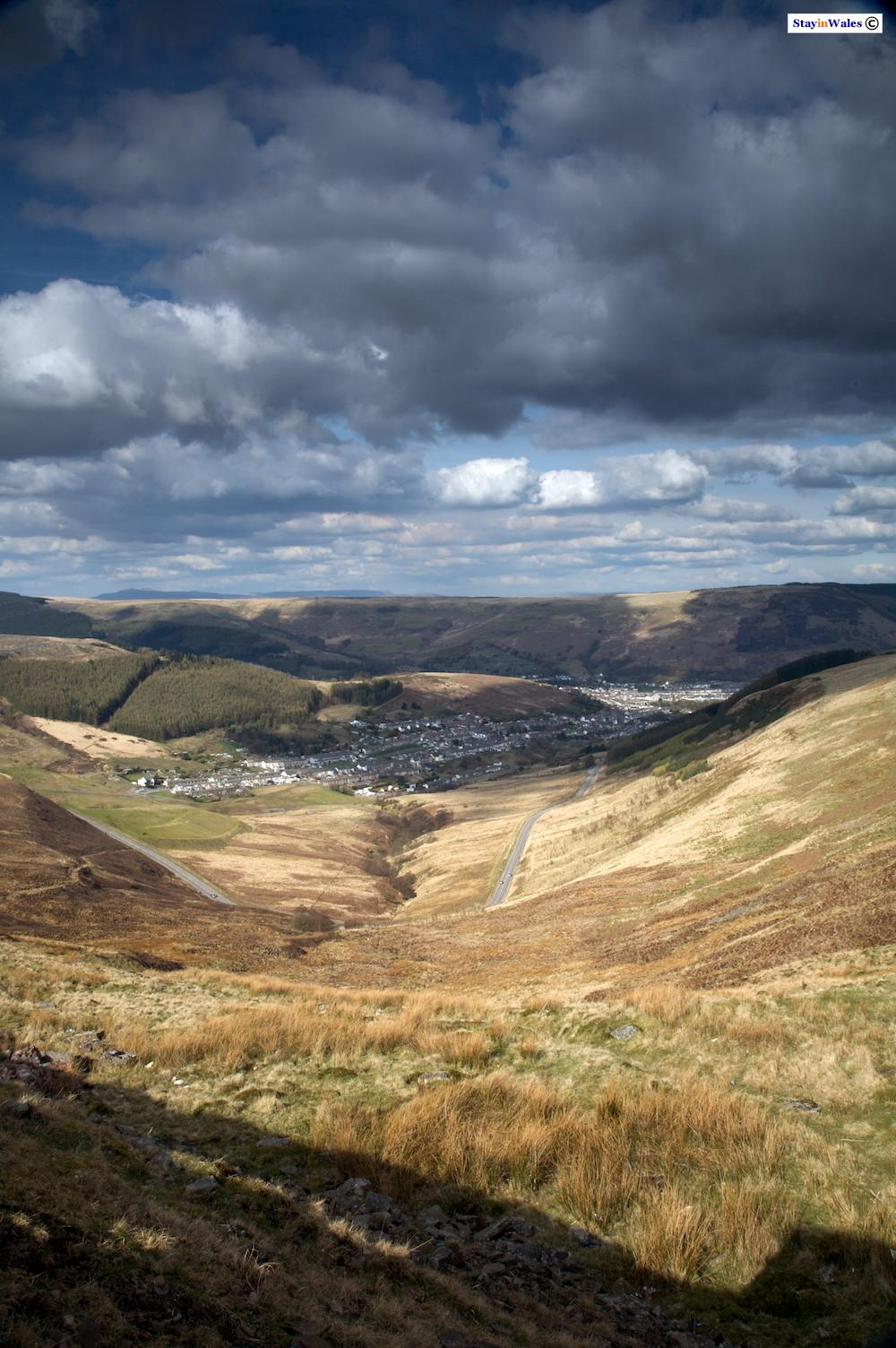 Graig Owr view of Treorchy