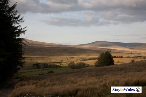 Brecon Beacons view from Penderyn