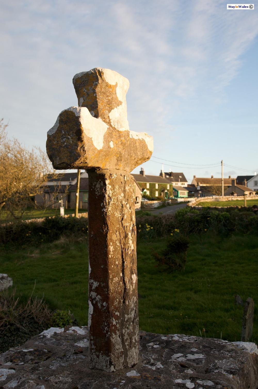 Bosherston preaching cross