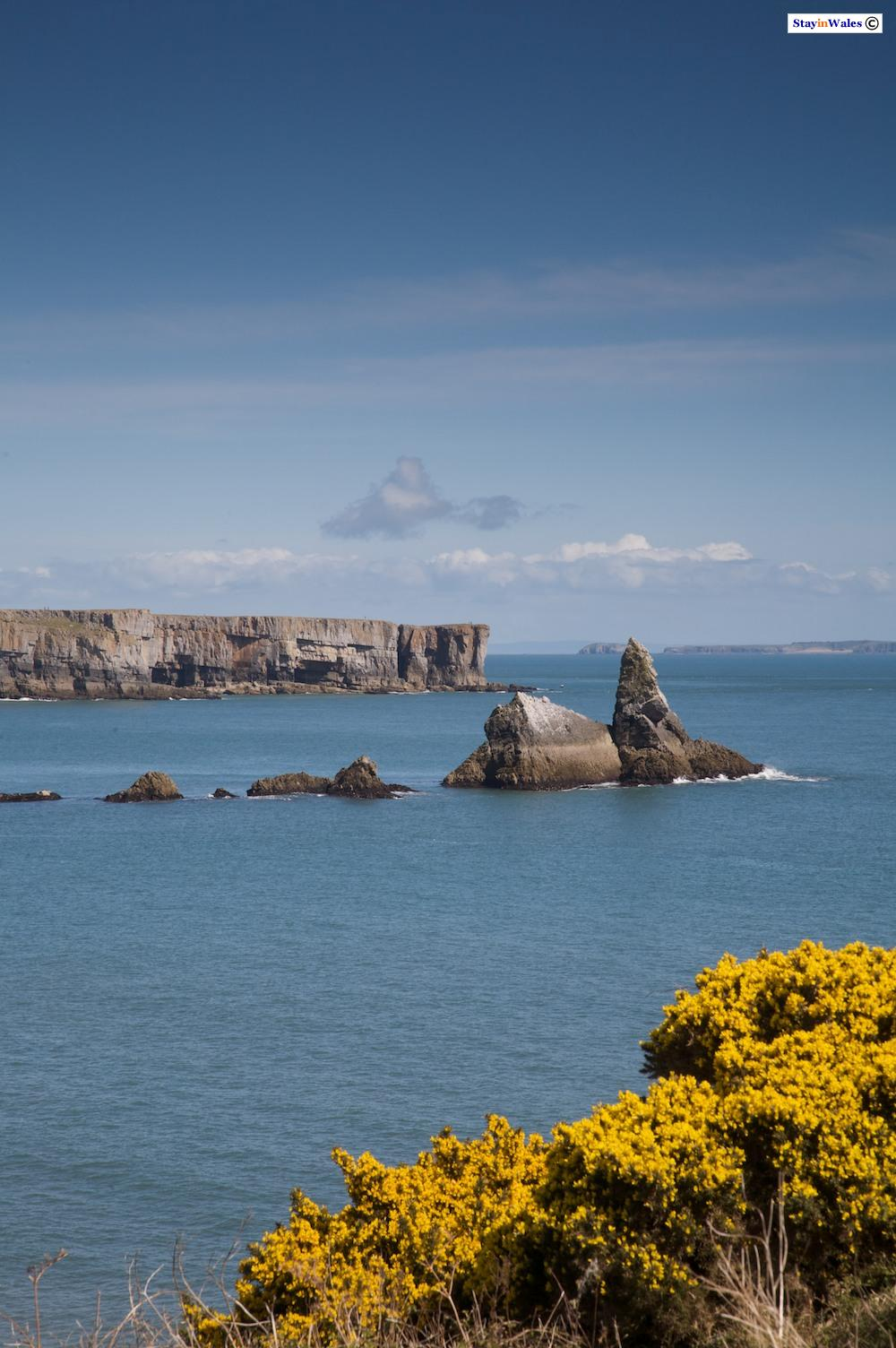 Church Rock, Stackpole Head and Caldey