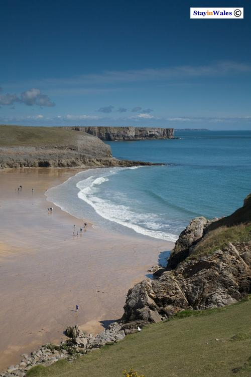 Broad Haven beach near Bosherston