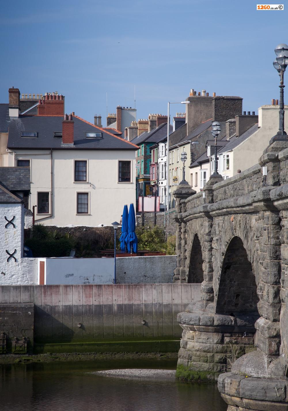 Pont Trefechan Rheidol Bridge, Aberystwyth