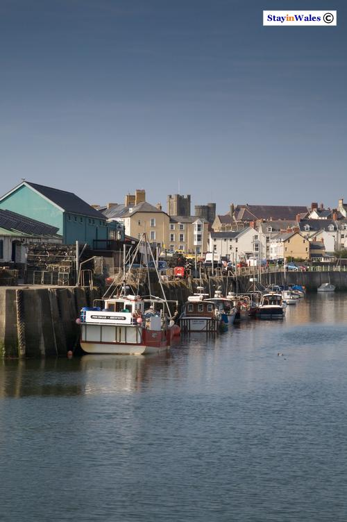 Fishing boats, Aberystwyth harbour