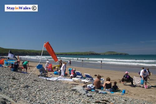 Sunny day at Whitesands