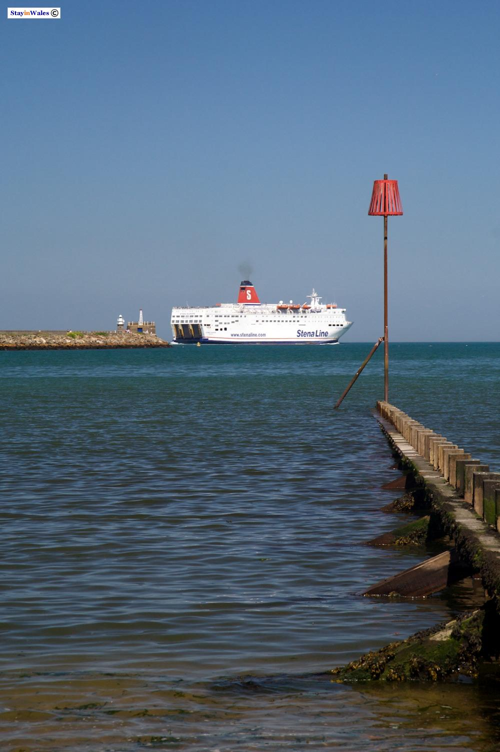 Stena Europe ferry at Fishguard