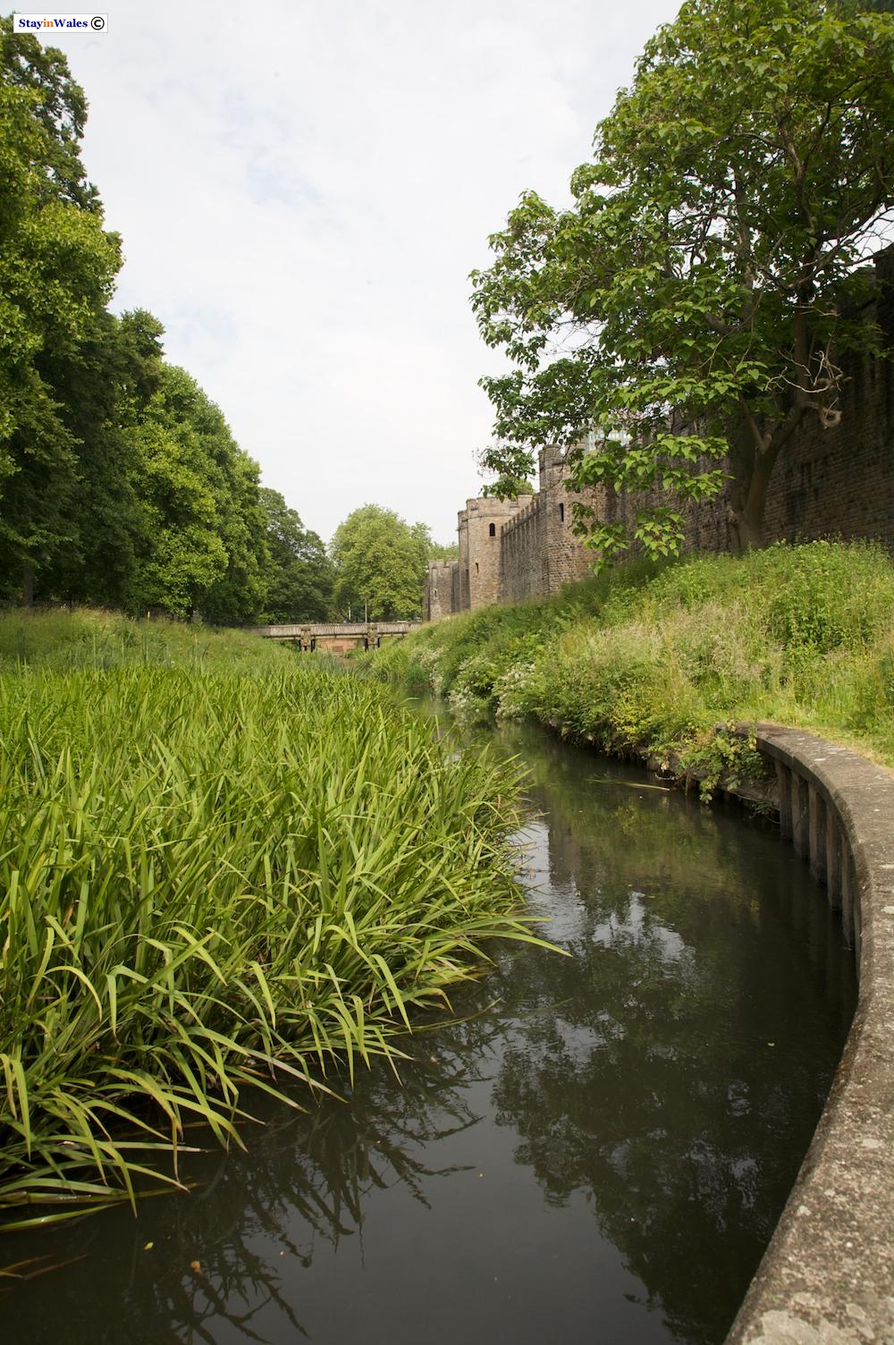 Cardiff Castle Moat