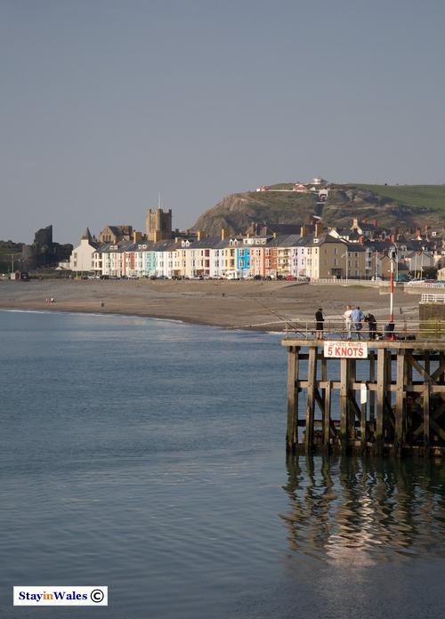 New Promenade at Aberystwyth