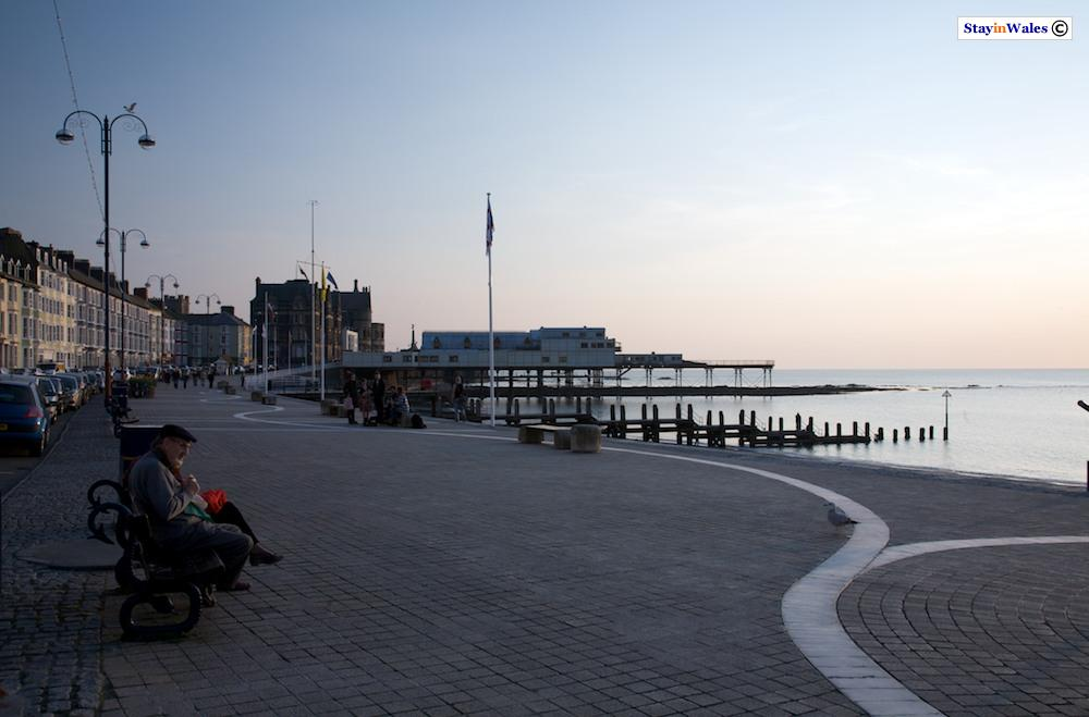Aberystwyth seafront at Dusk