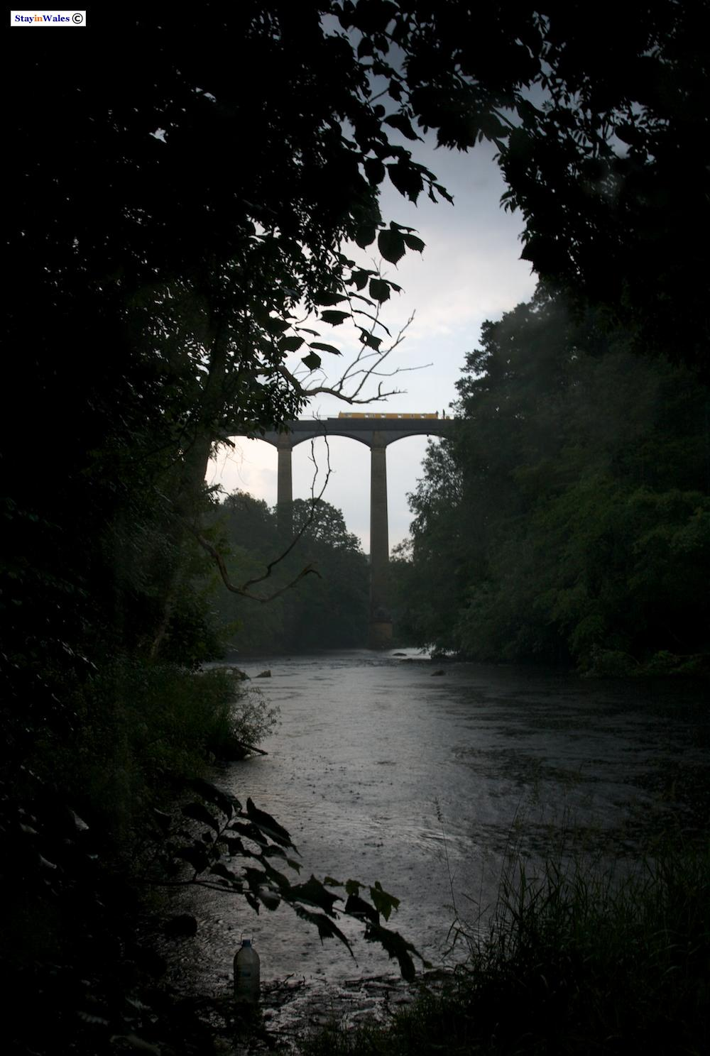 Pontcysyllte Aqueduct in a Storm