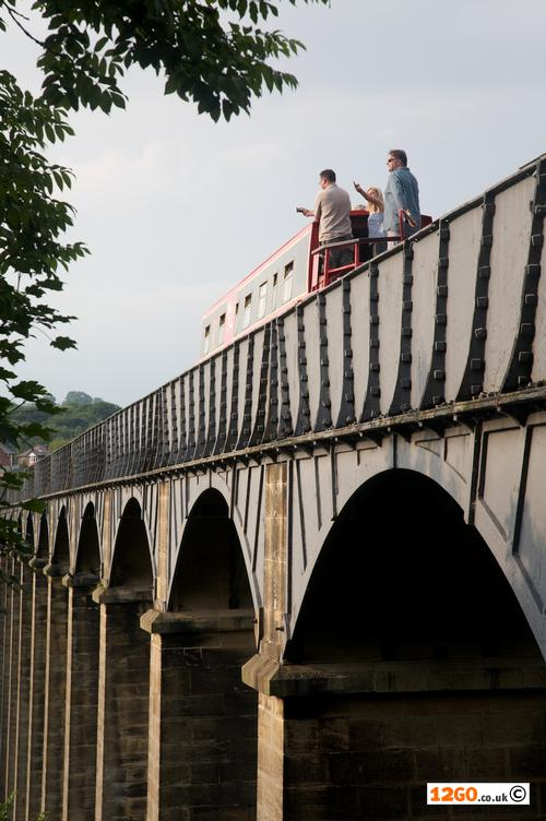 Crossing Pontcysyllte Aqueduct