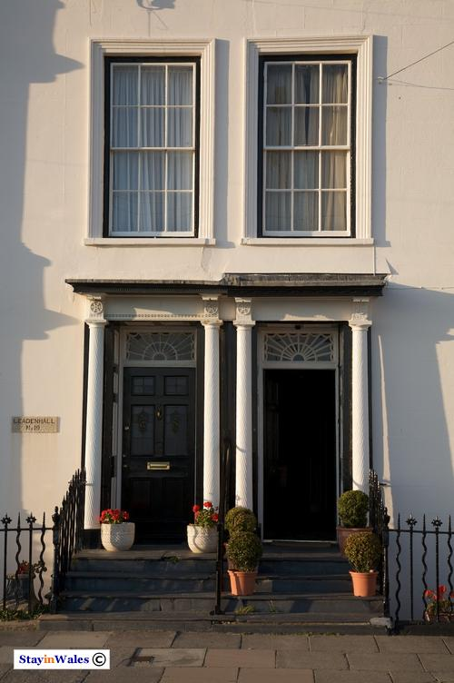 Georgian front doors Aberdovey