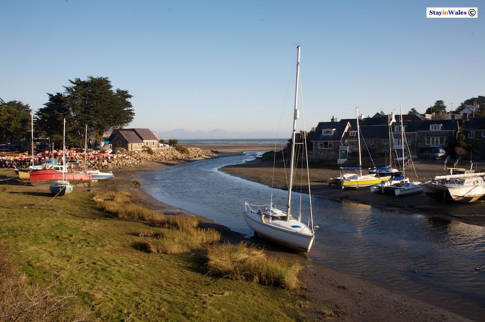 Afon Soch Estuary at Abersoch, Llyn