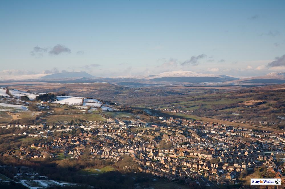 Cwmdare and the Brecon Beacons