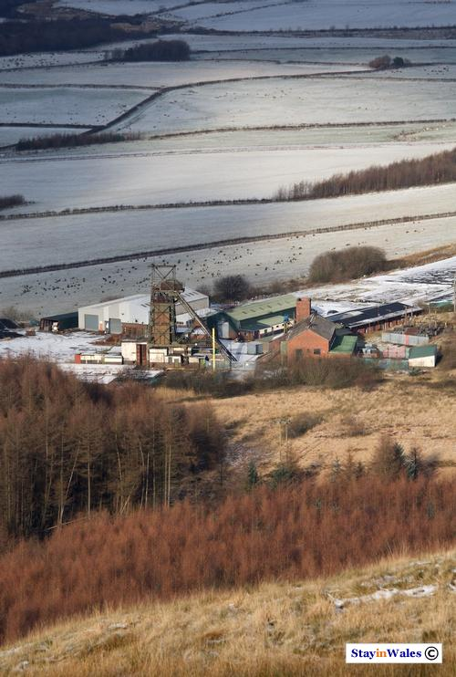 Tower Colliery seen from above