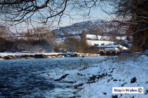 Builth and The Garth snow