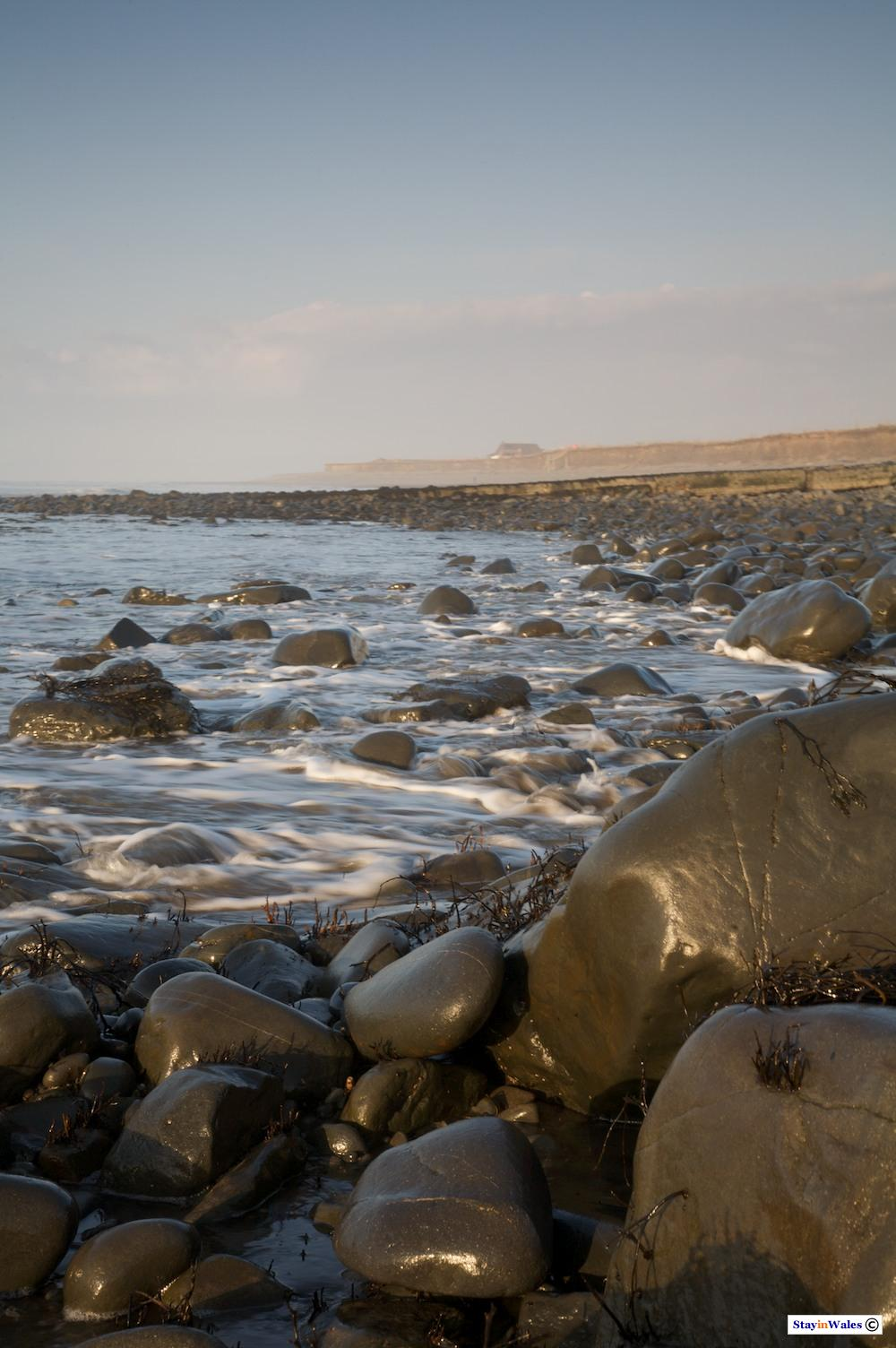 Ceredigion Coast at Llanon