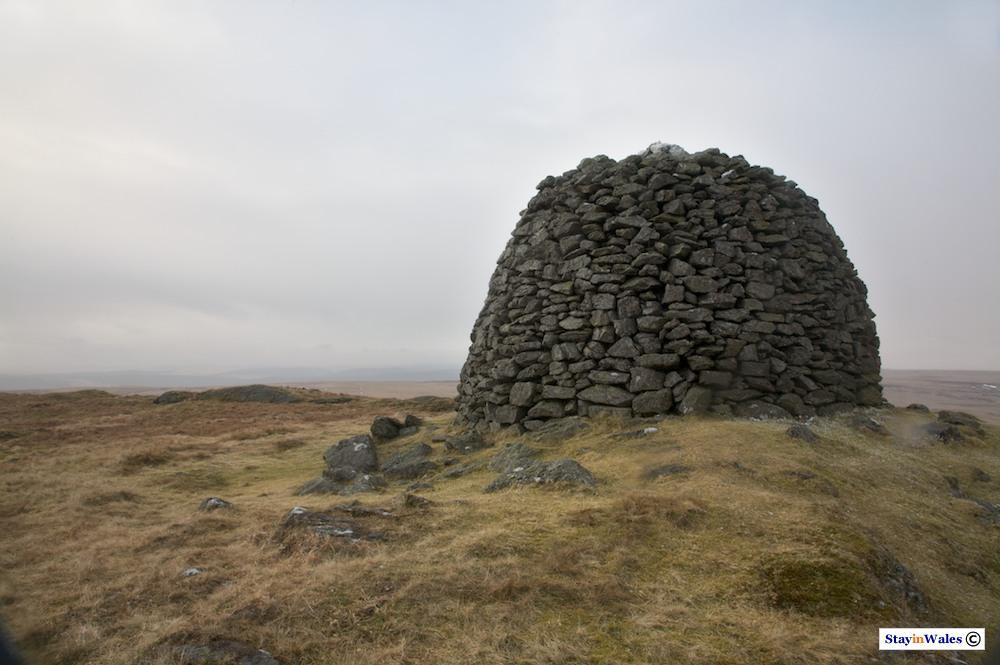 Summit of Drygarn Fawr, Cambrian Mountains