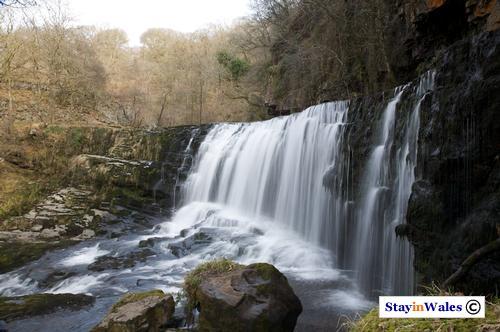 Sgwd Isaf Clun-gwyn waterfall