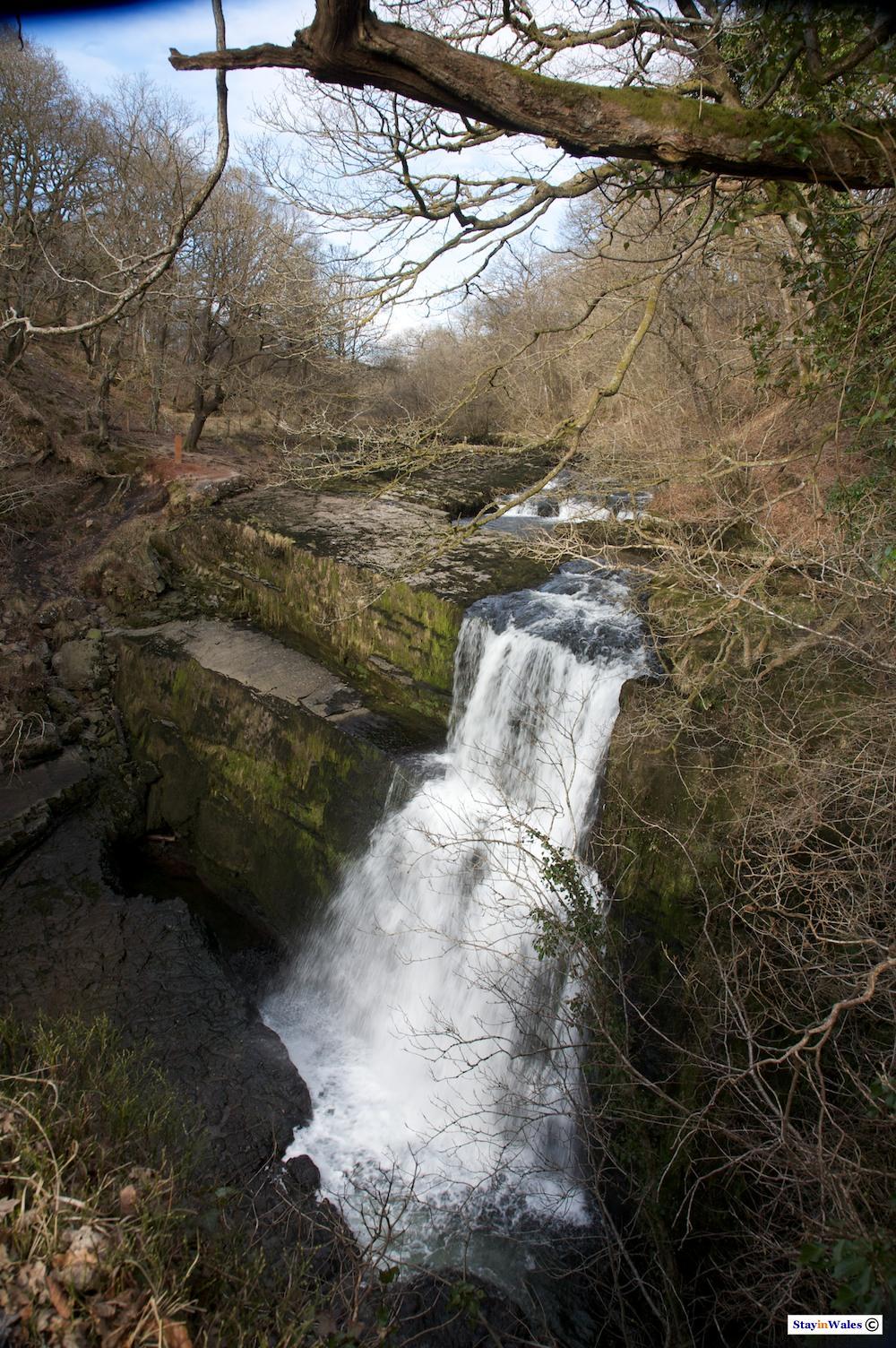 Sgwd Clun Gwyn waterfalls, Ystradfellte