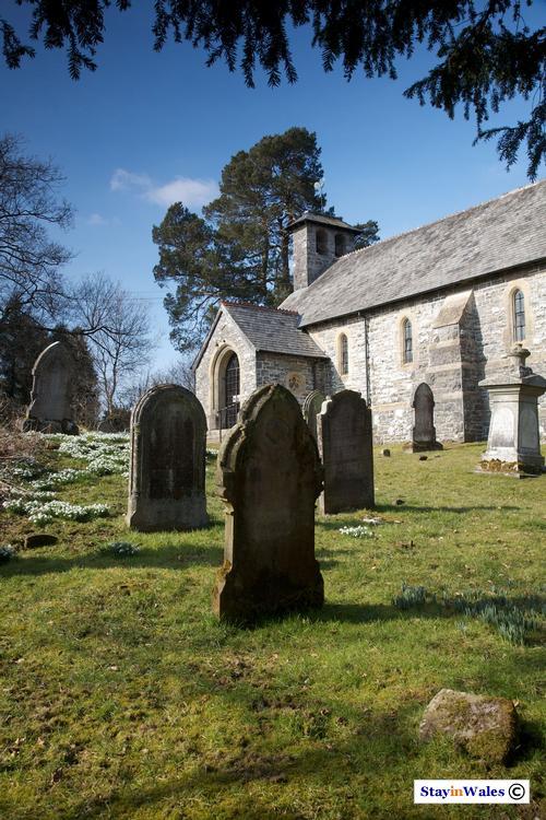 Llanlleonfel Church, Garth, Powys
