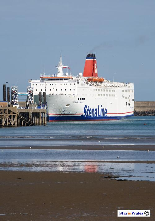 Stena Europe ferry at Goodwick
