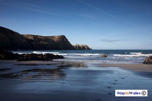 Traeth Llyfn beach, Pembrokeshire