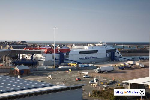 Stena Explorer ferry at Holyhead