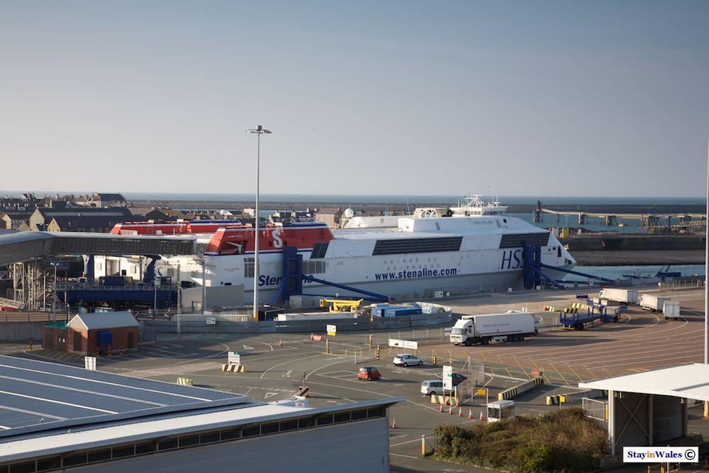 Stena Explorer ferry at Holyhead