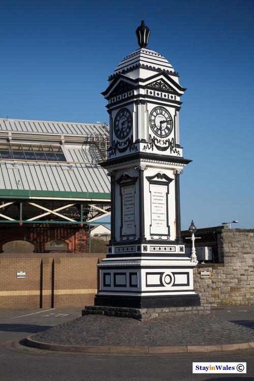 Railway station clock tower, Holyhead