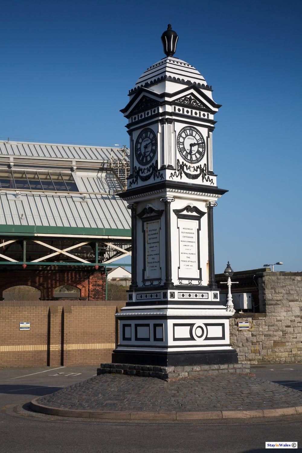 Railway station clock tower, Holyhead