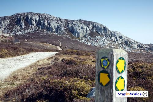 Holyhead Mountain summit, Anglesey