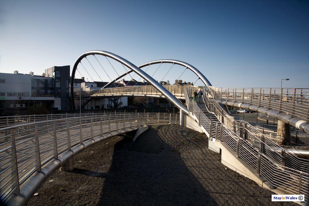 Celtic Gateway Bridge at Holyhead