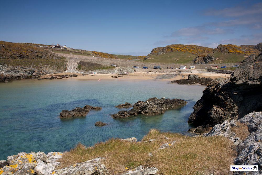Porth Dafarch beach, Anglesey