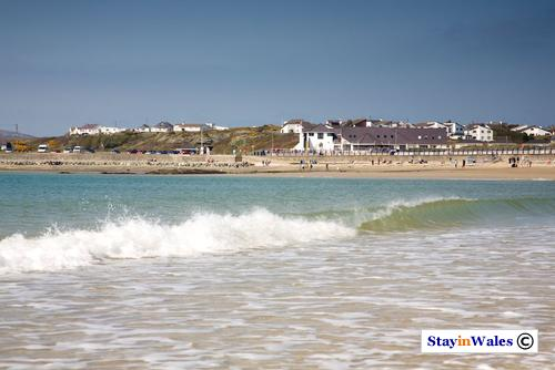 Trearddur Bay beach, Anglesey