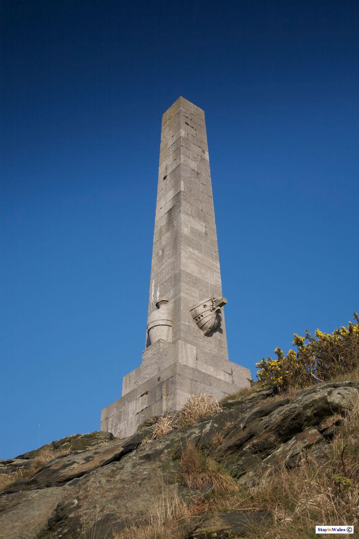 Skinner's Monument at Holyhead port
