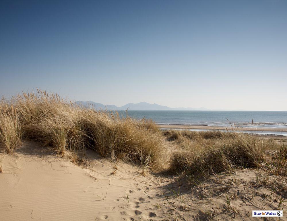 Sand dunes at Newborough, Anglesey