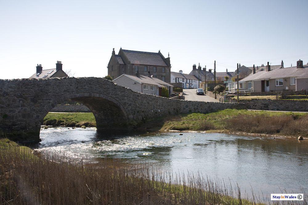 Old River Bridge at Aberffraw